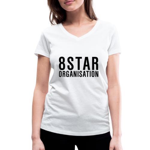 Eightstar Organisation Black Label - Frauen Bio-T-Shirt mit V-Ausschnitt von Stanley & Stella