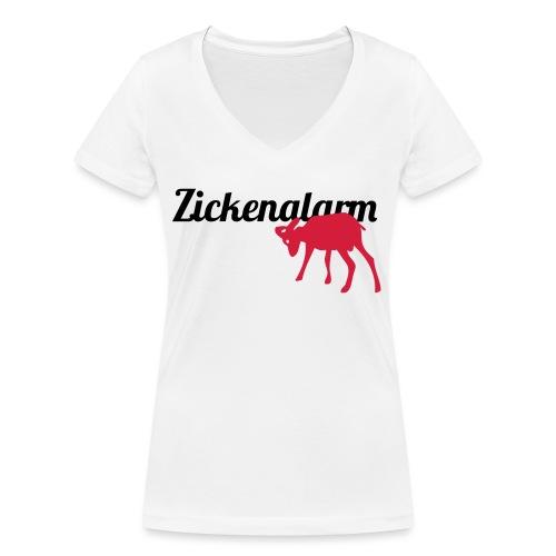 Zickenalarm 2 - Frauen Bio-T-Shirt mit V-Ausschnitt von Stanley & Stella