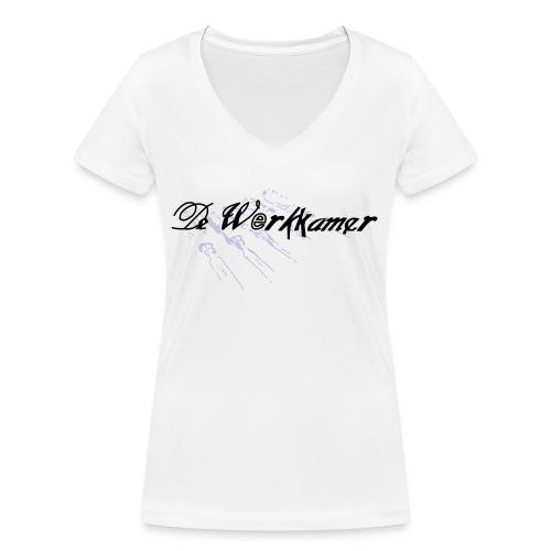 werkkamer edit - Vrouwen bio T-shirt met V-hals van Stanley & Stella