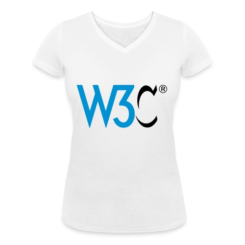 w3c - Women's Organic V-Neck T-Shirt by Stanley & Stella