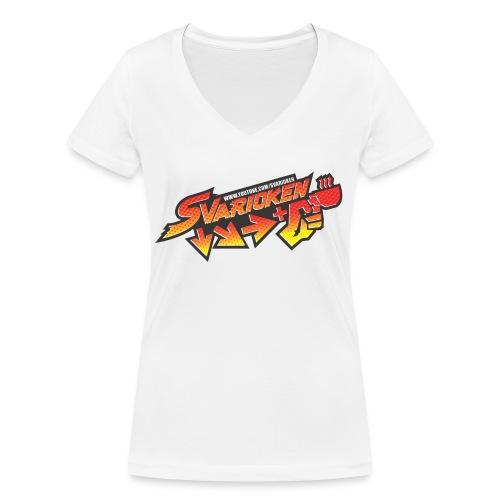 Maglietta Svarioken - T-shirt ecologica da donna con scollo a V di Stanley & Stella