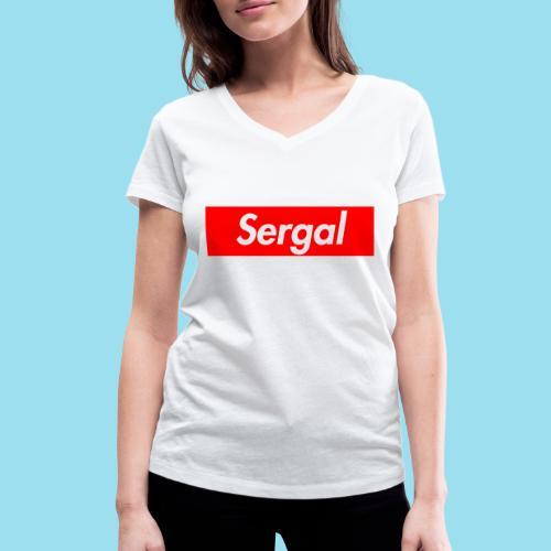 SERGAL Supmeme - Frauen Bio-T-Shirt mit V-Ausschnitt von Stanley & Stella