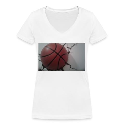 Softer Kevin K - Ekologisk T-shirt med V-ringning dam från Stanley & Stella