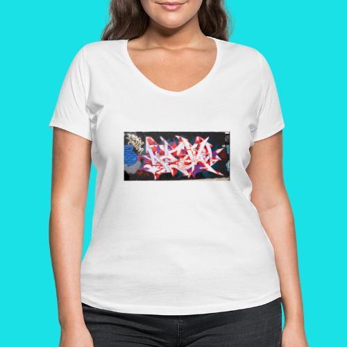 streetart #12 - Vrouwen bio T-shirt met V-hals van Stanley & Stella