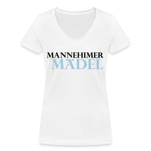 mannheimer maedel - Frauen Bio-T-Shirt mit V-Ausschnitt von Stanley & Stella