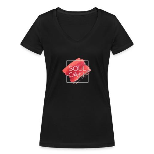 Soulcall - T-shirt ecologica da donna con scollo a V di Stanley & Stella