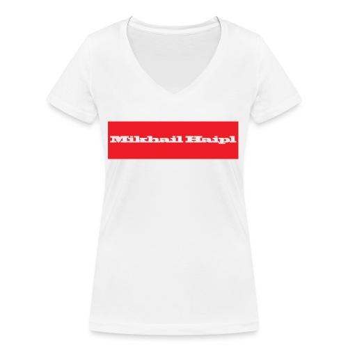Mikhail Haipl - Frauen Bio-T-Shirt mit V-Ausschnitt von Stanley & Stella