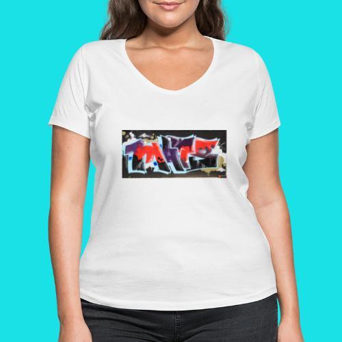 streetart # 11 - Vrouwen bio T-shirt met V-hals van Stanley & Stella