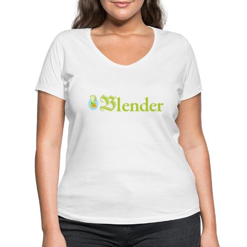 BLENDER BOOKMAGAZINE - T-shirt bio col V Stanley & Stella Femme