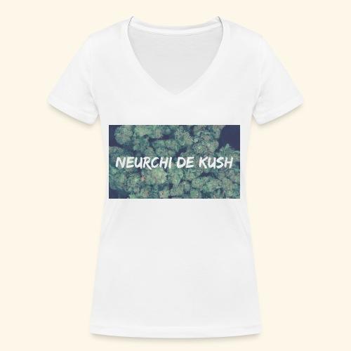 NEURCHI DE KUSH - T-shirt bio col V Stanley & Stella Femme