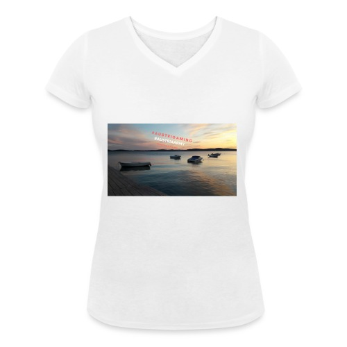 Merch - Frauen Bio-T-Shirt mit V-Ausschnitt von Stanley & Stella