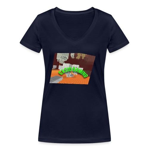 Logopit 1513697297360 - Vrouwen bio T-shirt met V-hals van Stanley & Stella