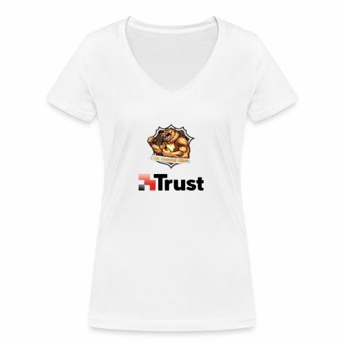 Prodotti Ufficiali con Sponsor della Crew! - T-shirt ecologica da donna con scollo a V di Stanley & Stella