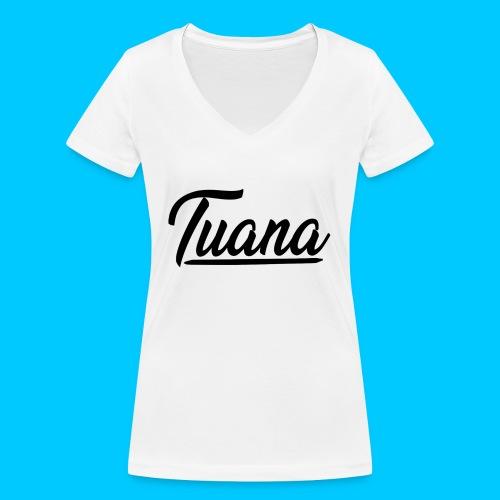 Tuana - Vrouwen bio T-shirt met V-hals van Stanley & Stella