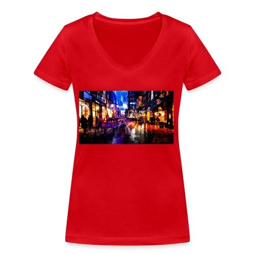 Flip Side Photography Amsterdam - Women's Organic V-Neck T-Shirt by Stanley & Stella