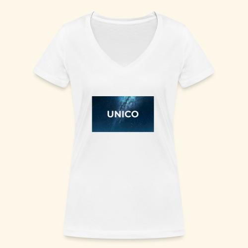 copertina canzone-unico - T-shirt ecologica da donna con scollo a V di Stanley & Stella