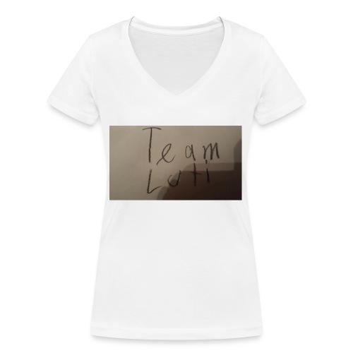 Team Luti - Frauen Bio-T-Shirt mit V-Ausschnitt von Stanley & Stella