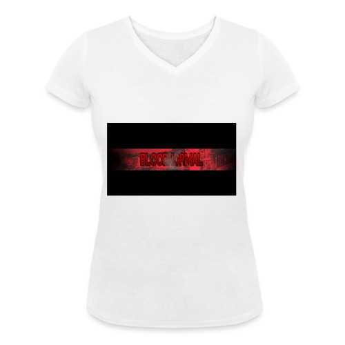Min loga - Ekologisk T-shirt med V-ringning dam från Stanley & Stella