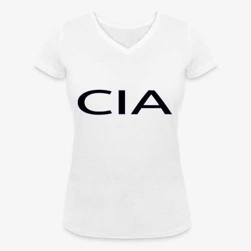 CIA - Women's Organic V-Neck T-Shirt by Stanley & Stella