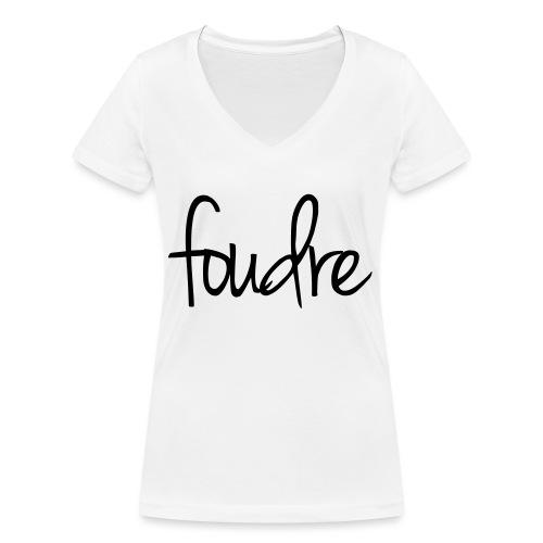 Foudre - Frauen Bio-T-Shirt mit V-Ausschnitt von Stanley & Stella