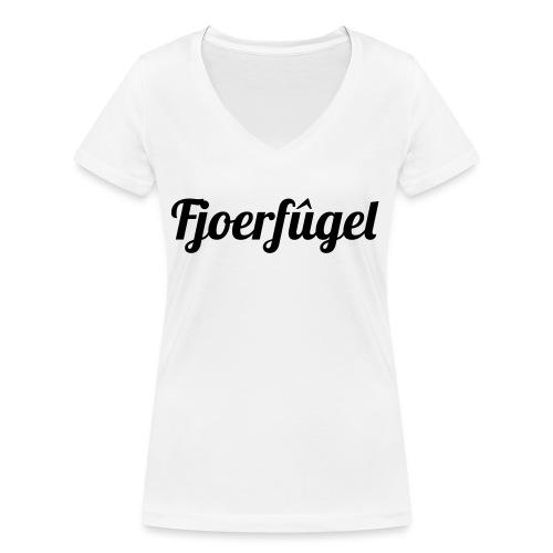 fjoerfugel - Vrouwen bio T-shirt met V-hals van Stanley & Stella