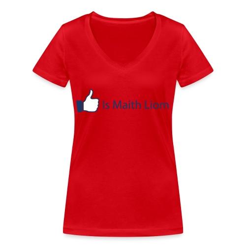 like nobg - Women's Organic V-Neck T-Shirt by Stanley & Stella