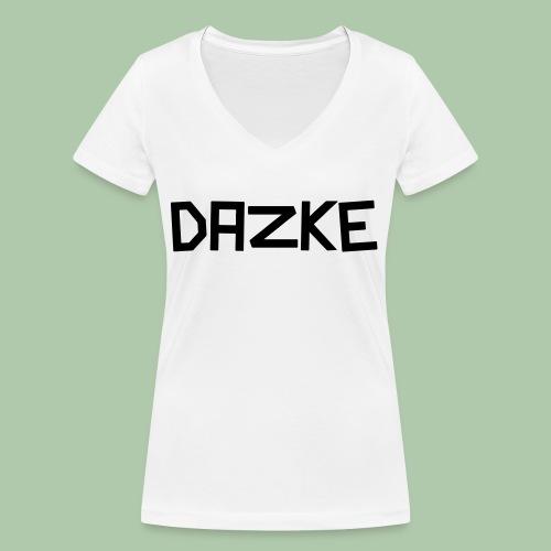 dazke_bunt - Frauen Bio-T-Shirt mit V-Ausschnitt von Stanley & Stella