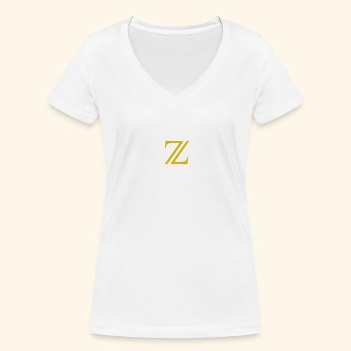 zaffer - T-shirt ecologica da donna con scollo a V di Stanley & Stella