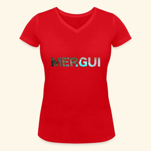 MERGUI - Women's Organic V-Neck T-Shirt by Stanley & Stella