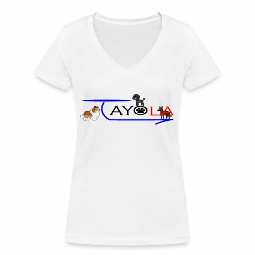 Tayola Black - T-shirt bio col V Stanley & Stella Femme