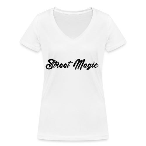 StreetMagic - Women's Organic V-Neck T-Shirt by Stanley & Stella