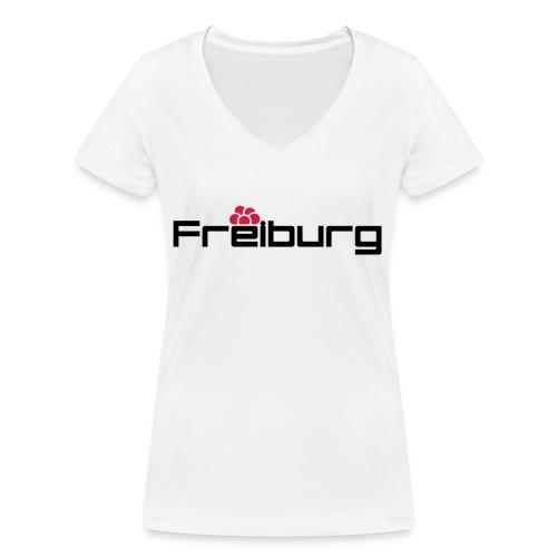 Freiburg - Frauen Bio-T-Shirt mit V-Ausschnitt von Stanley & Stella