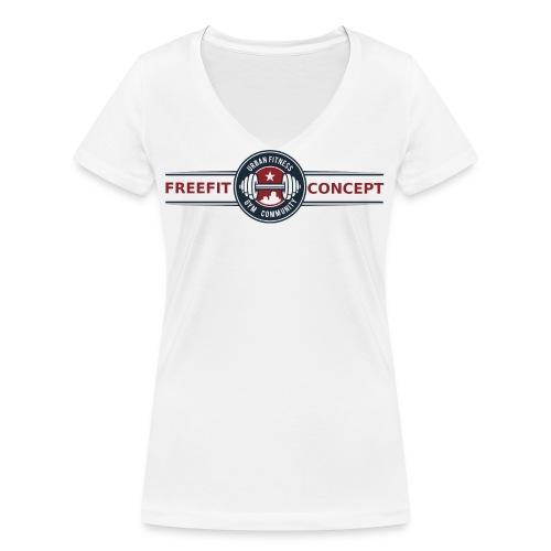 FFC_logo_standard_trans - T-shirt bio col V Stanley & Stella Femme
