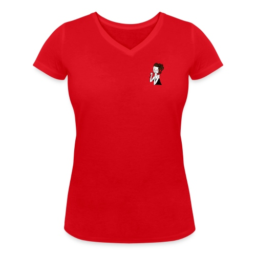 tatas-poches - T-shirt bio col V Stanley & Stella Femme