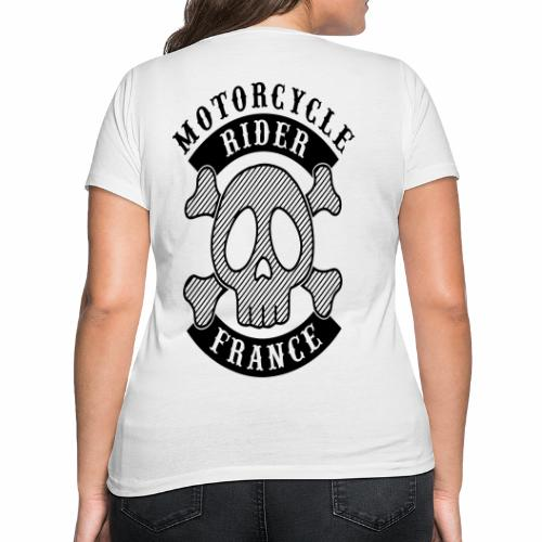 Motorcycle Rider France - T-shirt bio col V Stanley & Stella Femme
