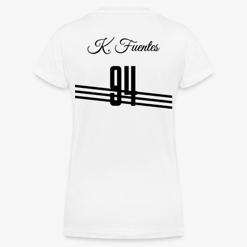 Trikot 94 - Frauen Bio-T-Shirt mit V-Ausschnitt von Stanley & Stella