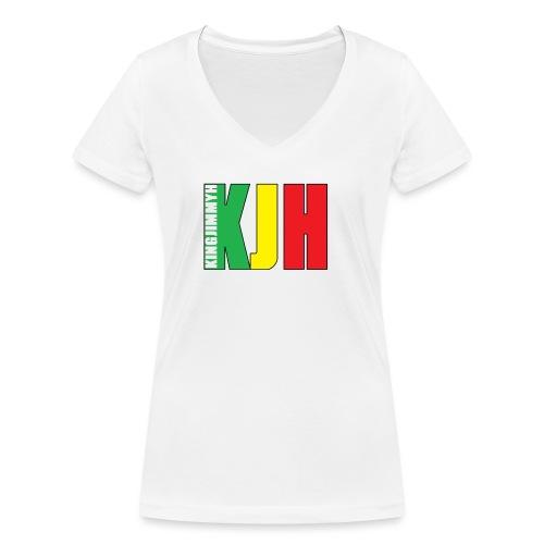 KJH (Logo) - Women's Organic V-Neck T-Shirt by Stanley & Stella