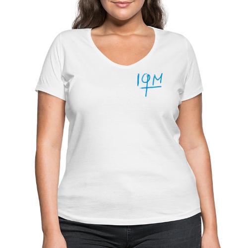 iqm_small - Frauen Bio-T-Shirt mit V-Ausschnitt von Stanley & Stella