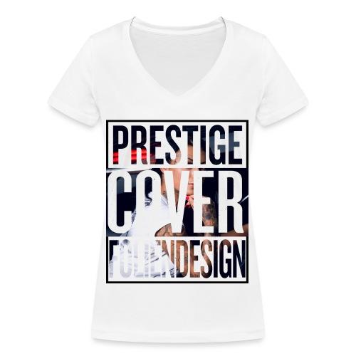 prestige_cover_foliendesi - Frauen Bio-T-Shirt mit V-Ausschnitt von Stanley & Stella