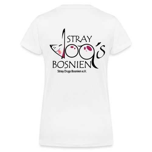 Bosnien - Frauen Bio-T-Shirt mit V-Ausschnitt von Stanley & Stella