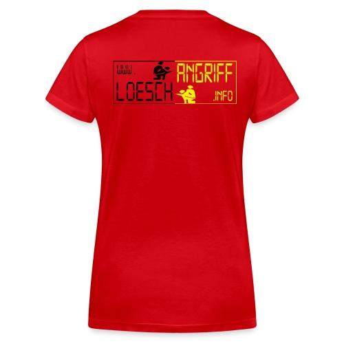 logo2014schwarzgelb2 png - Frauen Bio-T-Shirt mit V-Ausschnitt von Stanley & Stella
