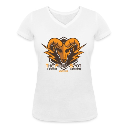 TFS Original Marron - T-shirt bio col V Stanley & Stella Femme