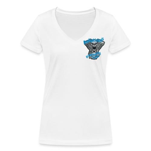 Wintertreffen Premium - Frauen Bio-T-Shirt mit V-Ausschnitt von Stanley & Stella