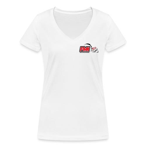 fmn render - T-shirt bio col V Stanley & Stella Femme