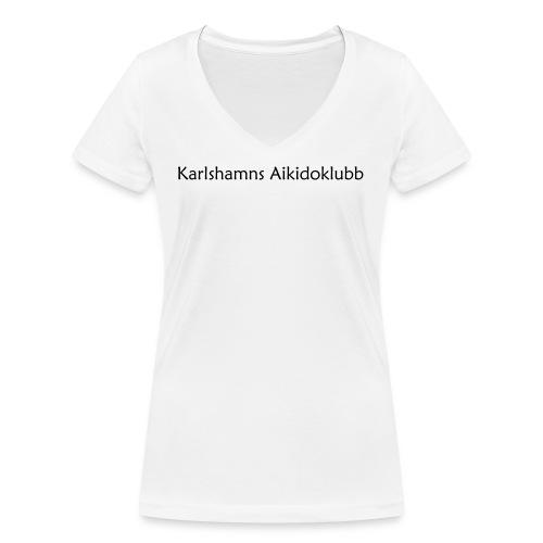 KAK - Text - Ekologisk T-shirt med V-ringning dam från Stanley & Stella