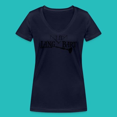 Logo-BN - T-shirt ecologica da donna con scollo a V di Stanley & Stella