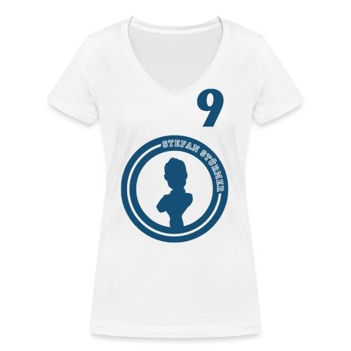 Stürmer Shirt Front - Frauen Bio-T-Shirt mit V-Ausschnitt von Stanley & Stella