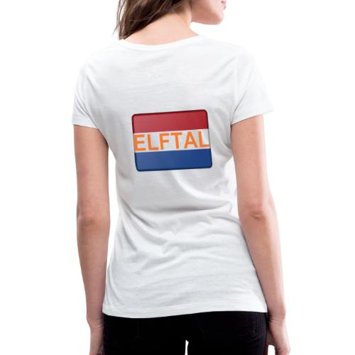 Holland Fanartikel - Frauen Bio-T-Shirt mit V-Ausschnitt von Stanley & Stella
