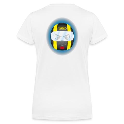 Xiyitifuride Quadri - T-shirt bio col V Stanley & Stella Femme