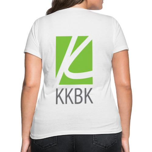 KKBK Logo - Frauen Bio-T-Shirt mit V-Ausschnitt von Stanley & Stella